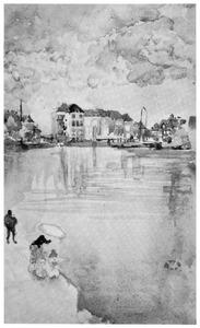 Toets in roze en zilver-Dordrecht