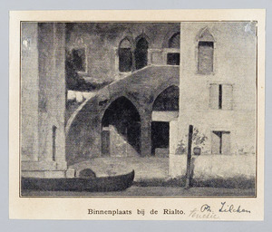 Binnenplaats bij de Rialto, Venetië