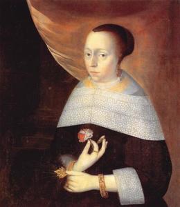 Portret van Isabeau Amsinck (1583-1636)