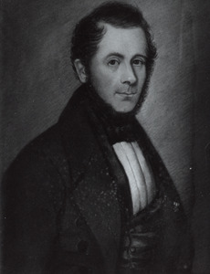 Portret van Petrus Oosting (1812-1857)