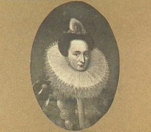 Portret van Maria van Nassau (1556-1616)