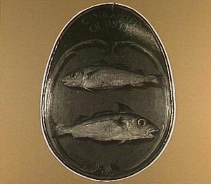 Begrafenisschild van het viskopersgilde