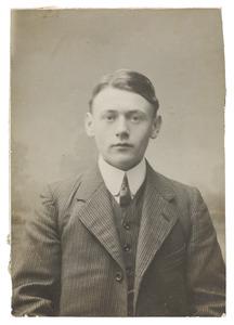 Portret van een man genaamd Cornelis Wilhelmus Frederikus Reijckers (1862-1925)