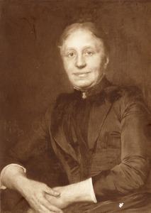 Portret van Maria Elisabeth van Loghem (1840-1922)