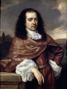 Portret van Diederick van Leyden van Leeuwen (1628-1682)