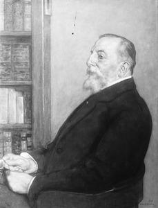 Portret van Wilhelmus Petrus van Stockum (1848-1927)