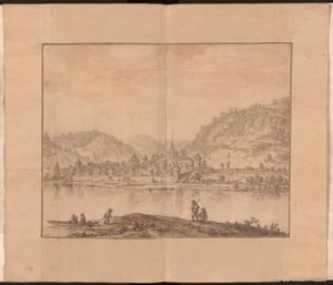 Gezicht op Linz am Rhein