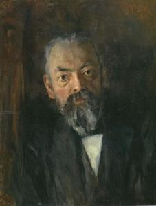 Portret van Ernst Seeger