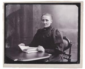 Portret van Gerardina van Vloten (1863-1950)