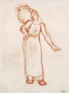 Het Normandische melkmeisje