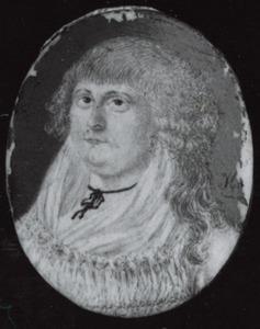 Portret van Cornelia Lubertina van der Weyde (1767-1808)