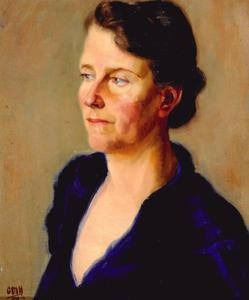 Portret van Maria Petronella Adriana van Gilse (1891-1968)