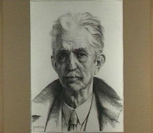 Portret van de schilder Oskar Mendlik