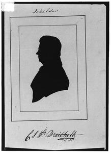 Portret van Christiaan Lodewijk Willem Dreibholtz (1799-1874)