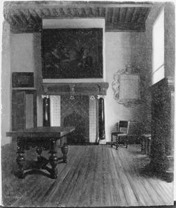 Zeventiende eeuws Sael interieur