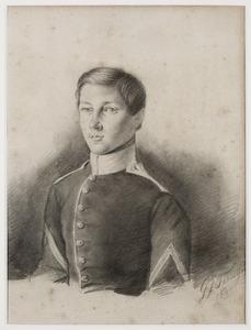 Portret van Willem Henri van Aerssen Beijeren van Voshol (1829-1855)
