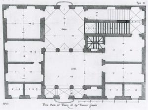 Palazzo Spinola: Grondplan