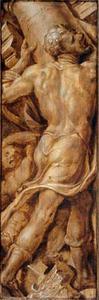 De dood van Simson: hij laat de tempel instorten en doodt alle aanwezigen  (Richteren 16:29-31)