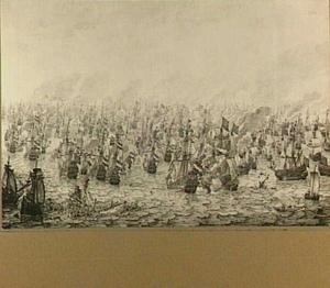 Zeeslag bij Dungeness, 10 dec 1652; episode uit de Tweede Engelse Zeeoorlog (1652-1654)