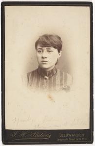 Portret van Sjoukje Pater (1857-1889)