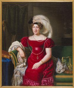 Portret van Lucretia Johanna van Winter (1785-1845)
