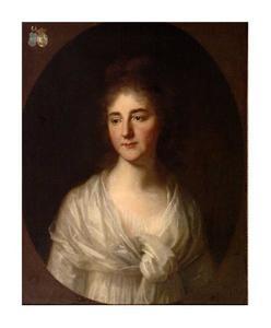 Portret van Johanna Margaretha Lampsins (1776-1812)