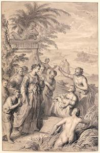 Mozes gevonden door de dochter van Farao