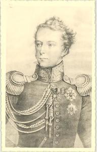 Portret van Willem George August Hendrik Belgicus van Nassau -Weilburg (1792-1839)