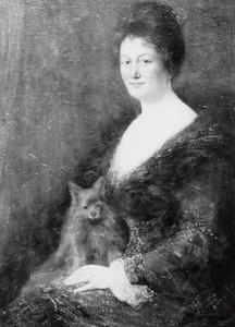 Portret van Elisabeth Pijl (1873-1952)