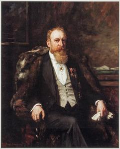 Portret van Hendricus Petrus Augustinus Johannes Smulders (1863-1936)