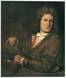 Portret van een onbekende schilder