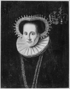 Portret van Jouck van Burmania ( -1627)