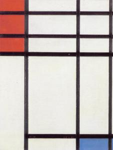 Composition of red, blue and white [Nom II]