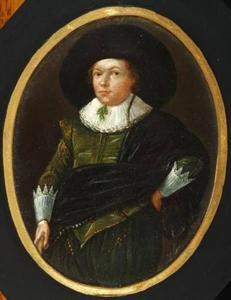Portret van Arent Meyndertsz. Fabricius (1609-1645)