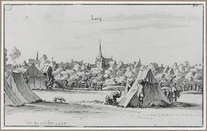 Legerkamp bij het dorp Bree