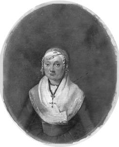 Portret van Antje (Anna) Kistemaker (1743-1811)