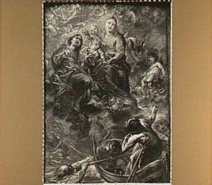 Maria met kind als patroonheilige der schipbreukelingen