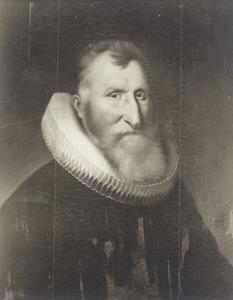 Portret van een man, waarschijnlijk Reinier van Aeswijn (1544-1620)
