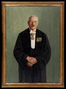 Portret van Johan Adrianus Gerard van der Steur (1865-1945)