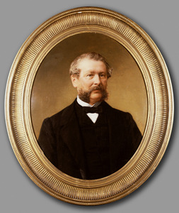 Portret van James Bowden Maingay (1813-1866)