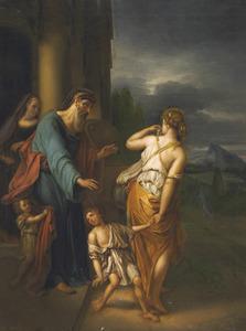 De wegzending van Hagar en Ismaël (Genesis 21:16-21)