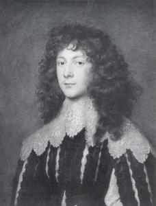 Portret van Charles Cavendish (1620-1643), officier in het Royalistische leger