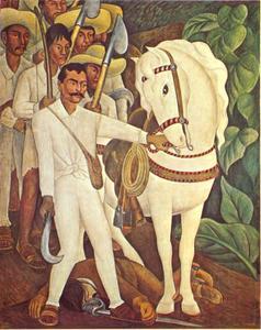 De boerenleider Zapata