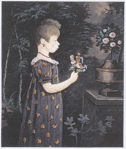 Portret van Marritje (Maretje) de Lange (1799-1869)