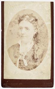 Portret van Anna Magdalena Jacoba van Cats de Raet (1835-1898)