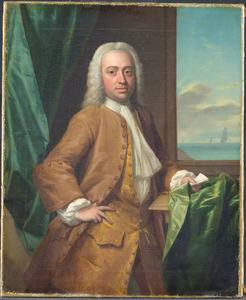 Portret van Isaac Parker (1702-1755)