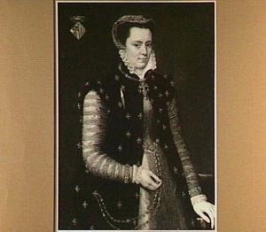 Portret van Margaretha van Parma