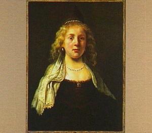 Portret van onbekende vrouw