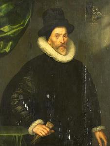Portret van Gualtero del Prado (1535-1618)