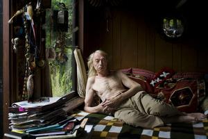 Portret van Simon Vinkenoog